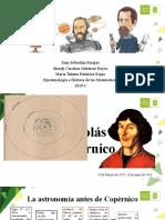 notas de Copernico y Kepler