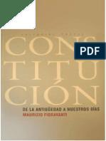Constitución- Maurizio Fioravanti