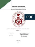 Informe 2 laboratorio de quimica organica I