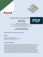 Congreso Español Argentino 2da Circular