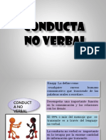 CONDUCTA NO VERBAL.pptx