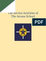 Arcane School - Service Activities
