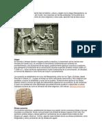La Mitología Sumeria Representa Toda La Tradición