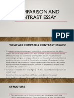 Comparison and Contrast PPT