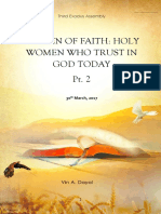 2017-0330 Women of Faith [Series One Pt. 2]