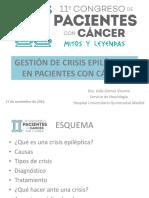 06 Gestión de Crisis Epilépticas en Los Pacientes Con Tumores Cerebrales - Dra. Lidia Gómez Vicente