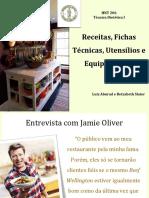 Receitas, Fichas Técnicas, Utensílios 2017 revisada