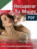 Como Recuperar a Tu Mujer - Juan Jose Miranda