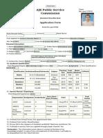 Www.ajkpsc.gov.Pk Home OAS PostRegForm.asp