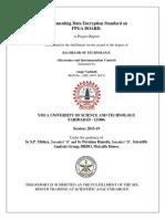 Vhdl Code for the Data Encryption Standard (2)