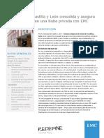 La Sanidad de Castilla y León consolida y asegura sus servicios TI en una Nube privada con EMC
