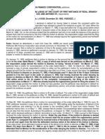 16.2 Ba Finance Corporation v Pineda