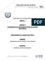 Unidad 1 Mantto Electrico Ventura