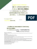 20Anos OT Colombia-Minvivienda IEUUN-2017