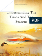 2017-0125 Understanding the Times and the Seasons