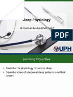 Lecture Sleep Physiology
