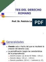 Fuentes Del Derecho Romano1