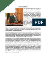 Raúl Carrancá y Rivas La Unidad Típica