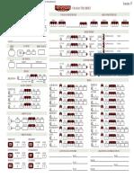 Pathfinder 2 Edit Able Char Sheet