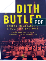 Butler - Corpos Em Aliança e as Políticas Das Ruas - Introdução e Cap. 1