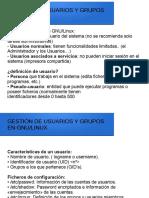 Gestion Usuarios en Linux
