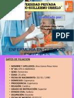 Cuidados-paciente-Informe-Abdomen Quirurgico y Fractura de Femur