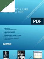 Gobierno de La Junta Militar (1962-1963)