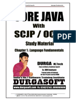 Core Java With SCJP by Durga