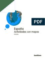 España, Actividades Con Mapas