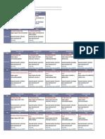 Cronograma de Capacitaciones- Agosto