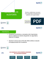 Requisitos de auditoria