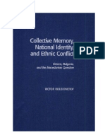 Collective Memory, National Identity and Ethnic Conflict