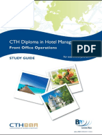 (Diploma in Hotel Management) BPP Learning Media - CTH Front Office Operations-BPP Learning Media (2009)