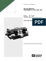 V601167 Parker 300 Series Single & Triple Pump Drives