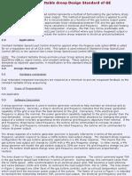 Constant Settable Droop Design Standard of GE