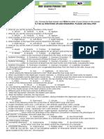 1stQuarterPeriodictestscience9