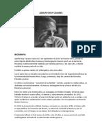 Biografia de Adolfo Byio Casares
