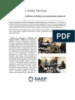 Relatório de Visita Técnica NIMO NAEP