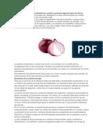 Beneficios de La Cebolla Morada