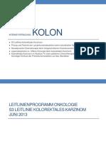 Interne Fortbildung- Kolon