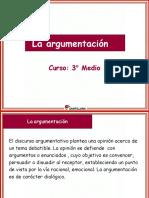 ARGUMENTACIÓN 3° MEDIO (Santillana)