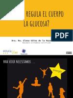 CÓMO REGULA EL CUERPO LA GLUCOSA- INTRODUCCIÓN- EDUCADIES-ENDI