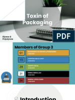 Kelompok 3 Toksikologi Bahan Pengemas