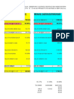 Planilha Excel Cálculos ST para SP_MG_RS