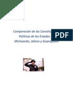 Cuadro Comparativo Constituciones de Michoacán, Jalisco y Guanajuato