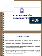 Concentración Electrostática en Power Point