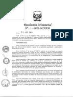 RM-Nº-227-2013-MINAM Protocolo de Monitoreo de Ruido