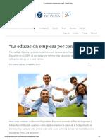 """""""La educación empieza por casa"""" _ UDEP Hoy.pdf"""