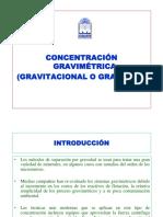 Concentración Gravimétrica Primera Parte