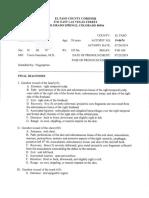 Joshua Vigil Autopsy Report